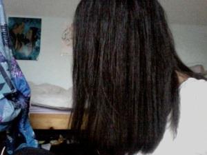 Cheveux lissé